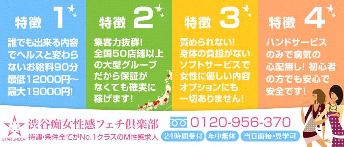 渋谷痴女性感フェチ倶楽部 求人バナー